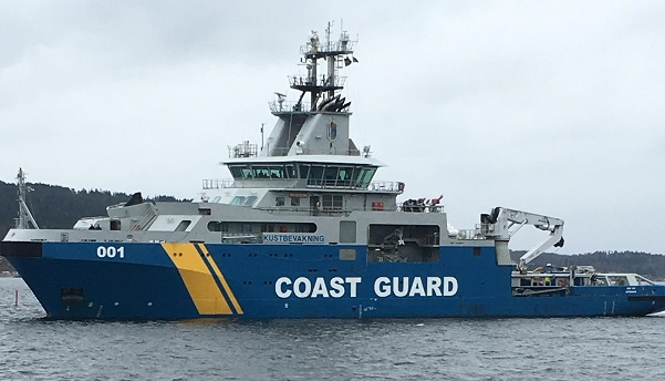 Uddevalla could become new home port for the Coast Guard's KBV001